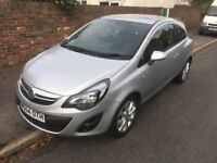 2014 VAUXHALL CORSA EXCITE 1.2 PETROL, METALLIC SILVER, 2 OWNERS, MOT & TAX, EXCELLENT CONDITION