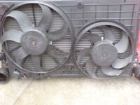 volkswagen group 1.9 diesel radiator plus fan