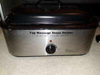 MassageMaster HOT STONE MASSAGE HEATER, 18 QUART (17 Litre)