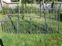 Pair of wrought gates no longer required