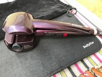 Babyliss Pro Perfect Curl with heat mat and velvet bag