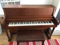 Upright Piano & Stool