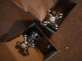 Pair of taps