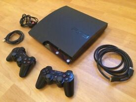 PS3 120GB Bundle with 10 Games and 2 Controllers