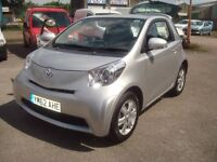 MUST SELL HENCE PRICE ONLY 14k MILES £4595 AUTOMATIC TOYOTA IQMILES FSH FULL MOT like new