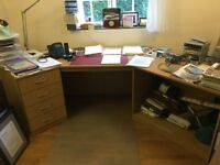 Office desk - large - ideal for home