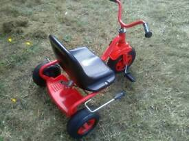 Kettler vintage kids trike in very good condition