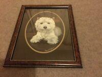 Scottie Dog prints x2