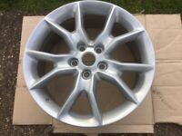 Alloy wheels 20x8 J PCD 5x127 powder coat silver full sparkel