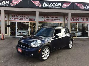 2012 MINI Cooper S Countryman 6 SPEED AWD LEATHER PANORAMIC ROOF