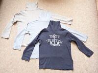 Boys long sleeved tops bundle 5-6 years Vertbaudet
