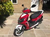 SYM Jet 4 - 125cc Scooter - Ridiculously low mileage of under 200 miles from new!!!!