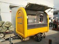 Catering Trailer Burger Van Hot Dog Ice Cream Food Cart