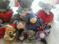 Assortment of teddy bears £40 for all or separate prices