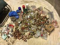Plumbing fittings various new & unused