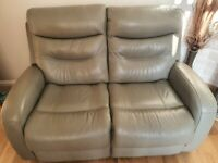 Real Leather Sofas 2X2 seater 1X chair