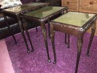 Three side tables