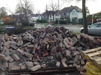 Reclaimed bricks for free of charge,self collection