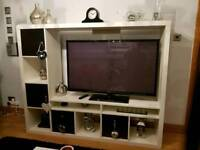 White Ikea tv unit