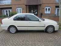 Fantastic condition Rover 45, low mileage interior kept like new