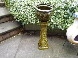 Made in W Germany Pot and Stand