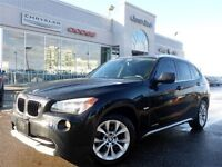 2012 BMW X1 XDRIVE PANO SUNROOF HTD FRT SEATS 17 ALLOYS BLUETO