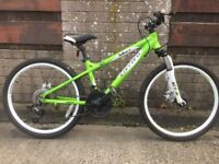Carrera Blast 24 Mountain Bike FREE DELIVERY Boys Kids Girls Cycling Off Road Trail Riding