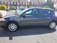 Renault megane dynamique with panoramic roo 57 plate f