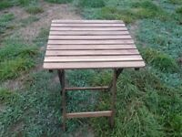 Small wooden garden tables job lot or invididual