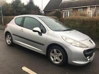 2009 Peugeot 207 1.4 HDI Verve *£30 Tax*