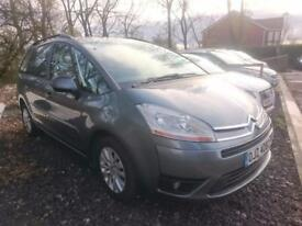 CITROEN C4 GRAND PICASSO 1.6HDi 16V VTR Plus 5dr (grey) 2008