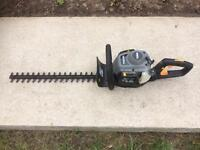 Run and stop titan hedge cutters please read