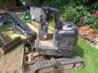 IHI 0.75 ton mini digger. Great little machine. Plant trailer also for sale