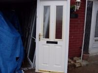composite door wheel chair and disability access low threshold nice and chunky type