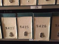 Vintage box files