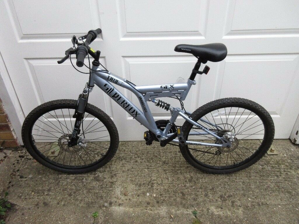 "Men's 24"" Dual Suspension, Dual Disk Mountain Bike"