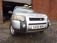 04 LAND ROVER FREELANDER TD4 SE DIESEL 2.0,MOT FEB 018,1OWNER FROM NEW,PART HISTORY,STUNNING JEEP
