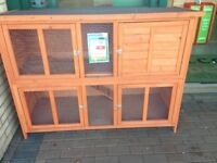 Large luxurious guinea pig/rabbit hutch