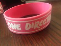One direction wrist bands