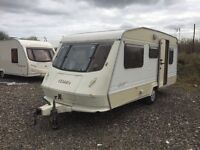 Elddis breeze spares or repairs 18ft cassette toilet shower hot and cold water 5 berth tows fine