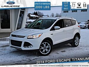 2014 Ford Escape **TITANIUM*CUIR*TOIT*NAV*CAMERA*A/C**