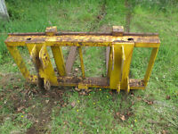 HEAVY DUTY PALLET FORKS WITH FRAME