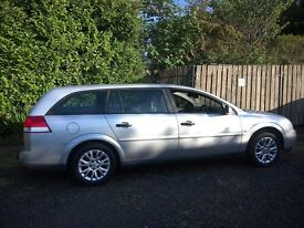 Vauxhall Vectra Estate, Silver, Petrol, 2.2l, Tow Bar