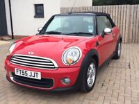 Mini One Convertible 1.6 (2011) in Chilli Red with Pepper Pack for sale (£5999.00)