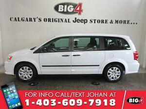 2015 Dodge Grand Caravan CVP, 7 seater, 3rd row Stow'n Go