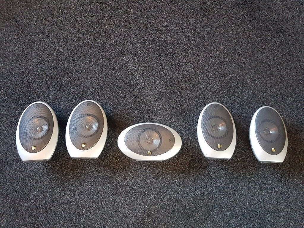 kef egg subwoofer. 5 x kef hts -1001 speakers with psw 1000.2 active subwoofer (kef egg kef