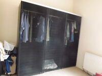 3 door sliding wardrobe