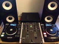DJ decks, mixer and speakers, must go, open to offers