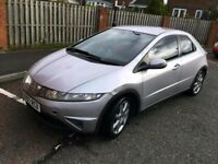 2007 HONDA CIVIC SE I-DSI 1.4 SERVICE HISTORY CHEAP INSURANCE