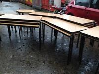 Tables stacking